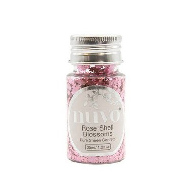 Nuvo Pure sheen confetti - rose shell blossomss 35ml