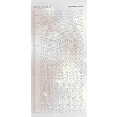 Hobbydots Sticker - Pearl - 17 Silver