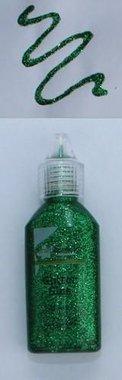 CraftEmotions Glitterlijm groen 20 ml