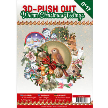 3D Pushout Book 17 Warm Christmas Feelings