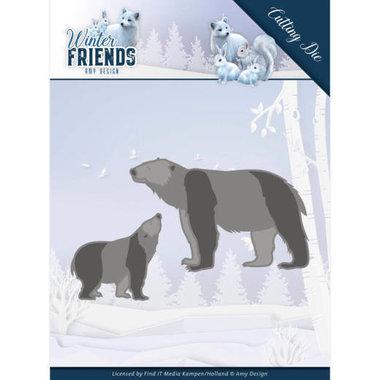 Dies - Amy Design - Winter Friends - Polar Bears