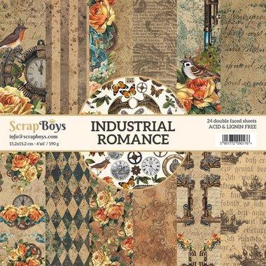 Scrapboys paperpad Industrial Romance