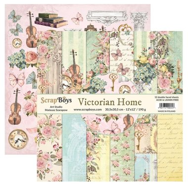 Scrapboys Victorian Home 30,5 x 30,5 cm