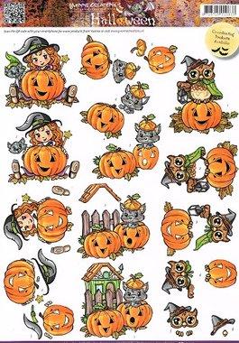 3D Knipvel - Yvonne Creations - Halloween