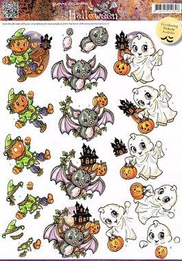 3D Knipvel - Yvonne Creations -  Halloween - Spook