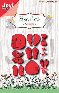 Joy! stencil Mon Ami olifant Nima 6002/1425