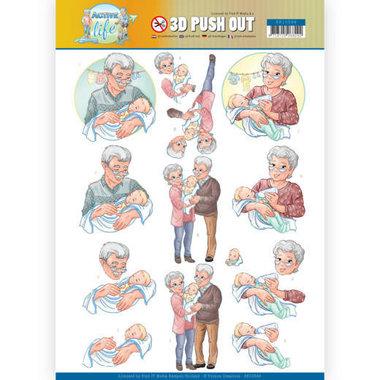 3D Pushout - Yvonne Creations - Active Life - Grandparents
