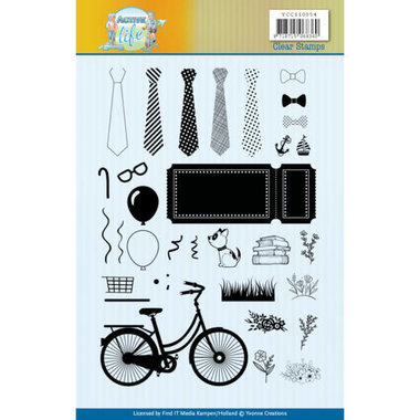 Clear Stamps - Yvonne Creations - Active Life