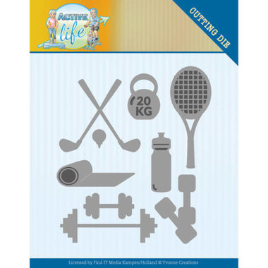 Dies - Yvonne Creations - Active Life - Active Sports
