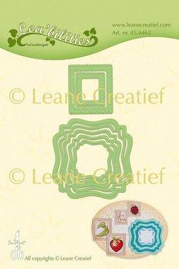 LeCrea - Lea'bilitie Frames swirl & postzegels snij emboss. mal