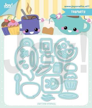 Joy! stencil Jocelijne tea-party 6002/1441
