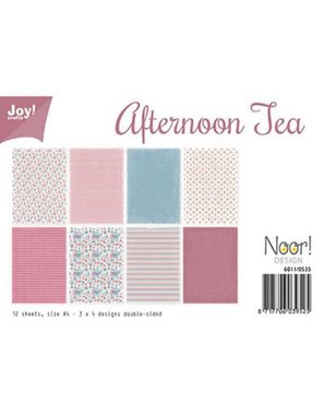 Joy! papierset Afternoon Tea 6011/0535