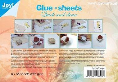 Joy! glue-sheets A5 (8 vel) 6500/0034