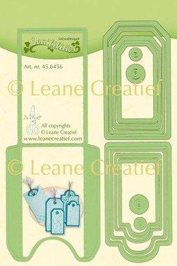 LeCrea - Lea'bilitie Pocket & Labels snij en embossing mal