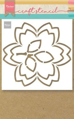 Marianne D Craft Stencil bloesem PS8054