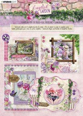 Studio Light Stansblok A4 12 vel English Garden nr.90