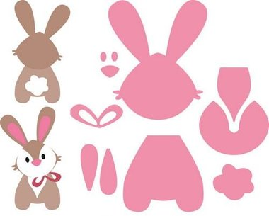 Marianne Design collectable bunny COL1354