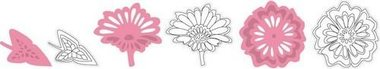 Marianne Design collectable bloemen en blad COL1304