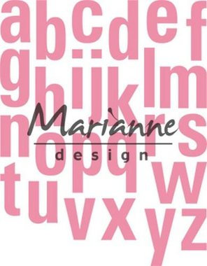 Marianne Design collectable alfabet XXL COL1449