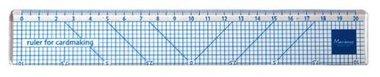 Marianne Design liniaal voor kaartenmaken 20cm LL1000