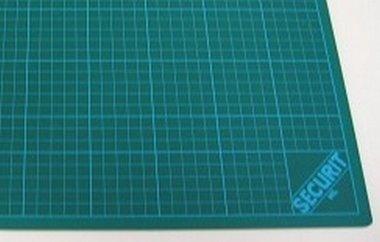 Snijmat groen 3-laags 30x45 cm