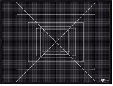CraftEmotions snijmat zware kwaliteit 45x60 cm