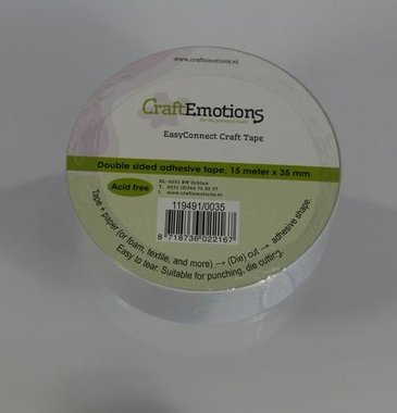 CraftEmotions easyconnect craft tape 15m x 35mm