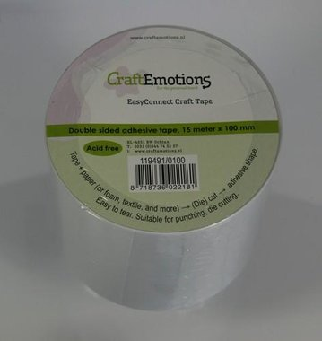 CraftEmotions easyconnect craft tape 15m x 100mm
