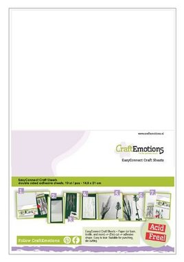 CraftEmotions easyconnect craft sheets A5 - 10 sheets
