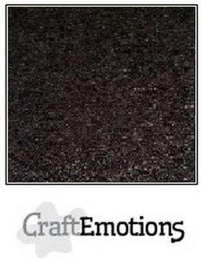 CraftEmotions karton kraft zwart 10 vel 30,5 x 30,5