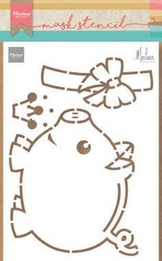 Marianne Design stencil marleen's spaarvarken PS8027