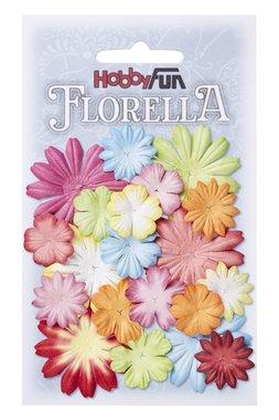 Florella bloemen uit moerbijpapier mix 1