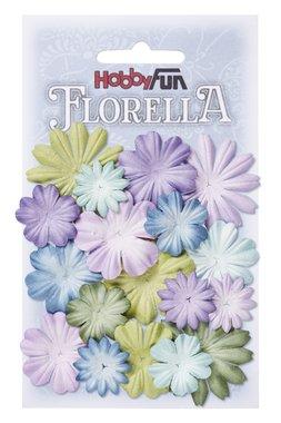 Florella bloemen uit moerbijpapier Mix 4