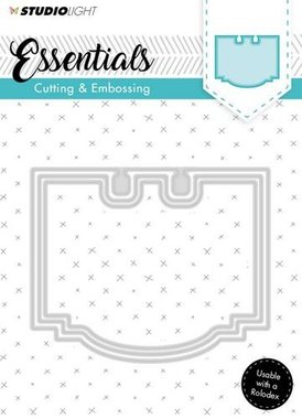 Embossing Die Cut Stencil Essentials Nr.120
