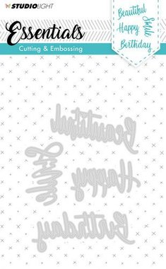 Studio Light Embossing Die Cut Stencil Essentials nr.163