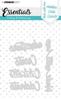 Studio Light Embossing Die Cut Stencil Essentials nr.164
