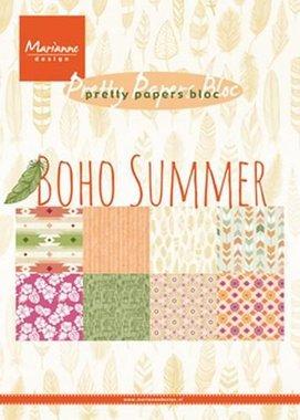Marianne Design Paper pad Boho Summer PK9148 15x21 cm (07-17)