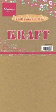 Marianne Design Paper pad Kraft (15 x 30) PK9114