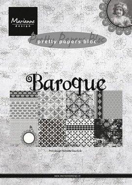 Marianne Design Paper pad Baroque PK9119