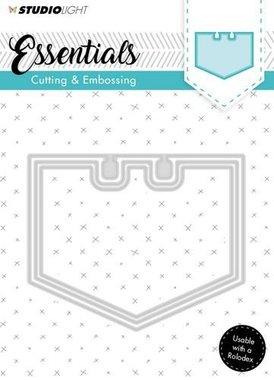 Embossing Die Cut Stencil Essentials Nr.122