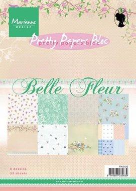 Marianne Design Paper pad Belle Fleur (14,7x21 cm) PK9105