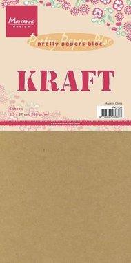 Marianne Design  Paper pad Kraft paper PK9109