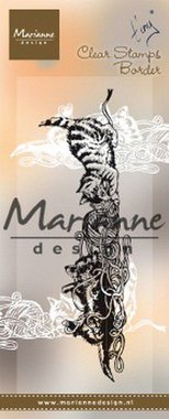 Marianne Design Clear Stamps tiny's border - kittens TC0873