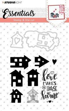 Studio Light Stamp & Die Cut A6 Basics nr 22