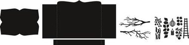 Marianne Design Craftable Box card CR1374