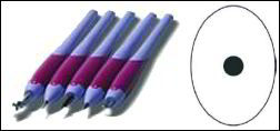 Pergamano perforeer pen 1-naalds