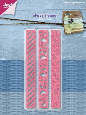 Joy! Stencil Mery's frames 6002/1076
