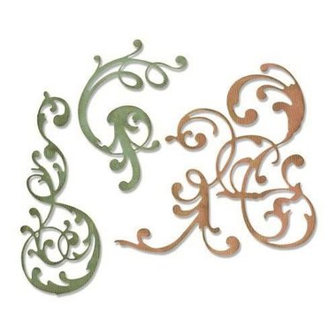 Sizzix Thinlits Die Set - 3PK Adorned