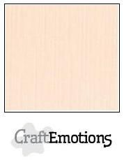 CraftEmotions linnenkarton créme 30,0 x 30,0 cm