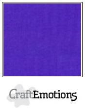 CraftEmotions linnenkarton donkerpaars 30,0 x 30,0 cm